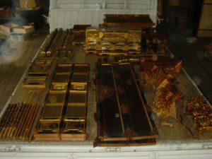 仏壇の洗濯(クリーニング)分解の写真
