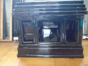 仏壇の洗濯(クリーニング)塗りの写真 台