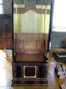 仏壇の洗濯(クリーニング)組み立ての写真 胴