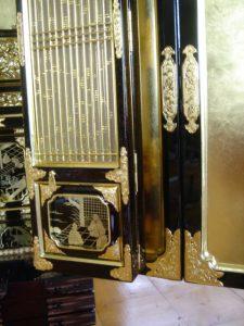 仏壇の洗濯(クリーニング)完成の写真 障子、扉金物