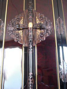 仏壇の洗濯(クリーニング)完成の写真 仏壇の扉