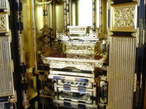仏壇の洗濯(クリーニング)完成の写真 仏壇仏具